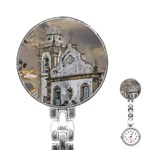 Exterior Facade Antique Colonial Church Olinda Brazil Stainless Steel Nurses Watch