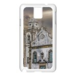 Exterior Facade Antique Colonial Church Olinda Brazil Samsung Galaxy Note 3 N9005 Case (White)