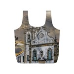 Exterior Facade Antique Colonial Church Olinda Brazil Full Print Recycle Bags (S)