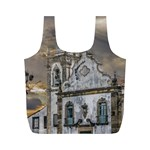 Exterior Facade Antique Colonial Church Olinda Brazil Full Print Recycle Bags (M)