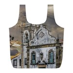 Exterior Facade Antique Colonial Church Olinda Brazil Full Print Recycle Bags (L)