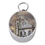Exterior Facade Antique Colonial Church Olinda Brazil Mini Silver Compasses
