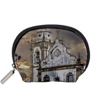 Exterior Facade Antique Colonial Church Olinda Brazil Accessory Pouches (Small)