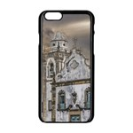 Exterior Facade Antique Colonial Church Olinda Brazil Apple iPhone 6/6S Black Enamel Case