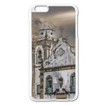 Exterior Facade Antique Colonial Church Olinda Brazil Apple iPhone 6 Plus/6S Plus Enamel White Case
