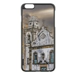 Exterior Facade Antique Colonial Church Olinda Brazil Apple iPhone 6 Plus/6S Plus Black Enamel Case