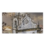 Exterior Facade Antique Colonial Church Olinda Brazil Satin Shawl