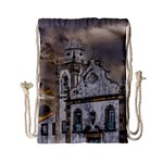 Exterior Facade Antique Colonial Church Olinda Brazil Drawstring Bag (Small)