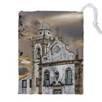 Exterior Facade Antique Colonial Church Olinda Brazil Drawstring Pouches (XXL)