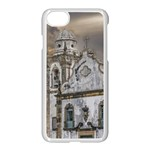 Exterior Facade Antique Colonial Church Olinda Brazil Apple iPhone 7 Seamless Case (White)