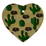 Cactuses Ornament (Heart)