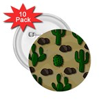 Cactuses 2.25  Buttons (10 pack)