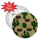 Cactuses 2.25  Buttons (100 pack)
