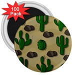 Cactuses 3  Magnets (100 pack)