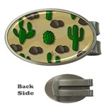 Cactuses Money Clips (Oval)
