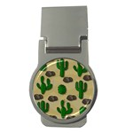 Cactuses Money Clips (Round)