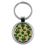 Cactuses Key Chains (Round)