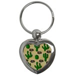 Cactuses Key Chains (Heart)