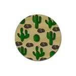 Cactuses Magnet 3  (Round)