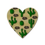 Cactuses Heart Magnet