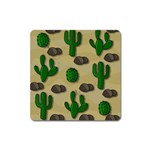 Cactuses Square Magnet