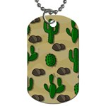 Cactuses Dog Tag (One Side)