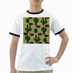 Cactuses Ringer T-Shirts