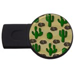 Cactuses USB Flash Drive Round (4 GB)