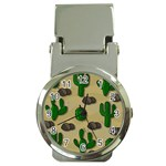 Cactuses Money Clip Watches