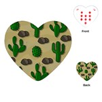 Cactuses Playing Cards (Heart)