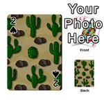 Cactuses Playing Cards 54 Designs
