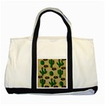 Cactuses Two Tone Tote Bag
