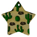 Cactuses Star Ornament (Two Sides)