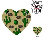Cactuses Playing Cards 54 (Heart)