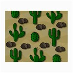 Cactuses Small Glasses Cloth (2-Side)