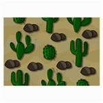 Cactuses Large Glasses Cloth (2-Side)