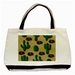 Cactuses Basic Tote Bag (Two Sides)