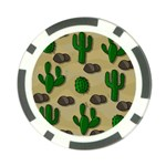 Cactuses Poker Chip Card Guards