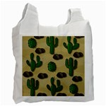 Cactuses Recycle Bag (One Side)