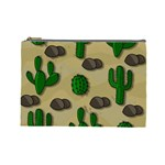 Cactuses Cosmetic Bag (Large)