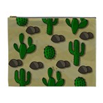 Cactuses Cosmetic Bag (XL)