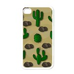 Cactuses Apple iPhone 4 Case (White)