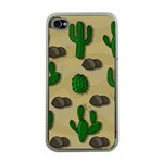 Cactuses Apple iPhone 4 Case (Clear)