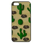 Cactuses Apple iPhone 5 Seamless Case (Black)