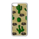 Cactuses Apple iPhone 5C Seamless Case (White)