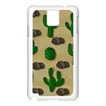 Cactuses Samsung Galaxy Note 3 N9005 Case (White)