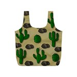 Cactuses Full Print Recycle Bags (S)