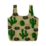 Cactuses Full Print Recycle Bags (M)
