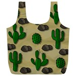 Cactuses Full Print Recycle Bags (L)