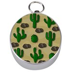 Cactuses Silver Compasses